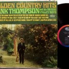 Thompson, Hank - Golden Country Hits - Vinyl LP Record - Mono
