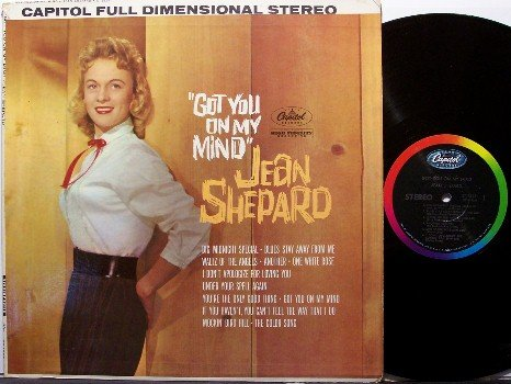 Shephard, Jean - Got You On My Mind - Vinyl LP Record - Country