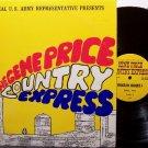 Price, Gene Country Express - US Army Radio Show - April 1974 - Vinyl 2 LP Record Set