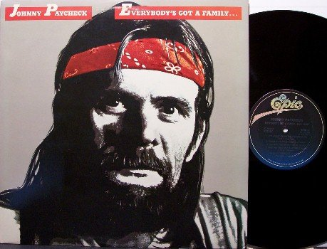 Paycheck, Johnny - Everybody's Got A Family - Vinyl LP Record - Country