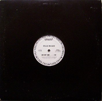 "Nelson, Willie - Midnight Rider + 2 - White Label Promo Only 12"" Vinyl - Country"