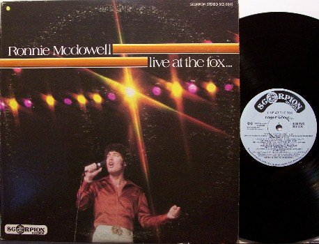 McDowell, Ronnie - Live At The Fox - Vinyl LP Record - Country