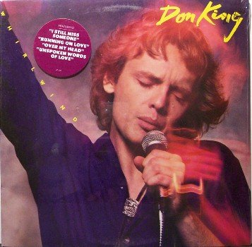 King, Don - Whirlwind - Sealed Vinyl LP Record - Country