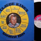 King, Claude - Claude King's Greatest Hits - Signed Vinyl LP Record - Country
