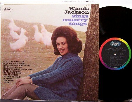 Jackson, Wanda - Sings Country Songs - Vinyl LP Record - Mono