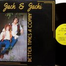 Jack & Jacki - Better Times A Comin' - Signed LP Record - Country Bluegrass