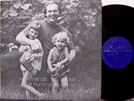 Green, Doug - Liza Jane & Sally Anne - Vinyl LP Record - Buck White / Vic Jordan - Bluegrass