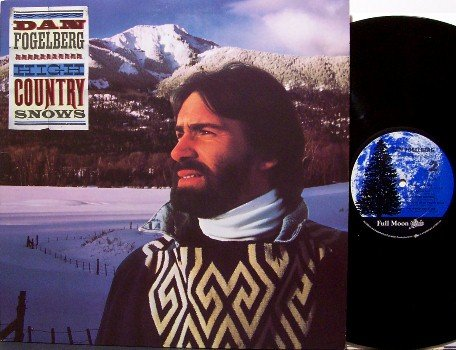 Fogelberg, Dan - High Country Snows - Vinyl LP Record - Bluegrass