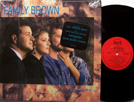 Family Brown - Life And Times 1982-89 - Vinyl LP Record - Country