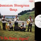Dominion Bluegrass Boys - I'll Be Home Again - Vinyl LP Record - Bluegrass