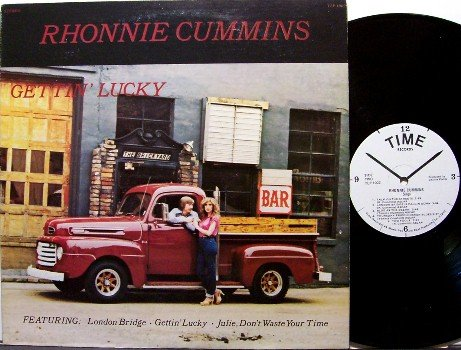 Cummins, Rhonnie - Gettin' Lucky - Vinyl LP Record - Great Cover - Outsider Country