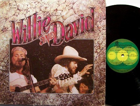 Coe, David Allan & Willie Nelson - Willie And David - Vinyl LP Record - Country