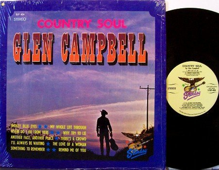 Campbell, Glen - Country Soul - Vinyl LP Record - Early Recordings