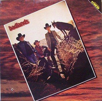 Badlands - Self Titled - Sealed Vinyl LP Record - Bluegrass