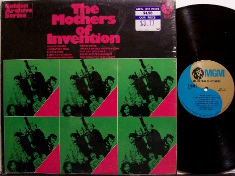 Zappa, Frank & The Mothers Of Invention - Golden Archives Series - Vinyl LP Record - Rock