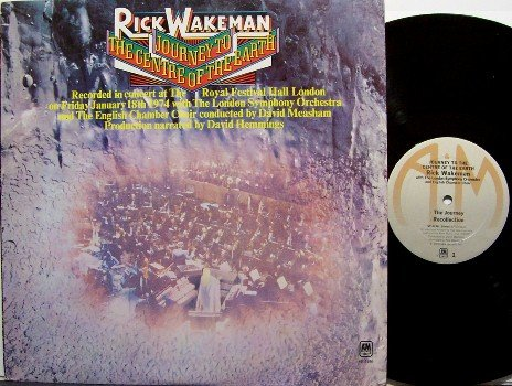 Wakeman, Rick - Journey To The Center Of The Earth - Vinyl LP Record - Yes Keyboard - Rock
