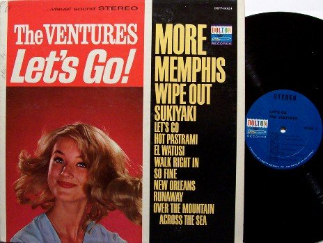 Ventures, The - Lets Go - Vinyl LP Record - Let's Go! - Rock
