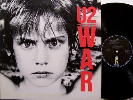 U2 - War - Vinyl LP Record - Music Club Pressing - U 2 - Rock