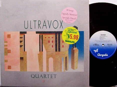 Ultravox - Quartet - Vinyl LP Record - Rock