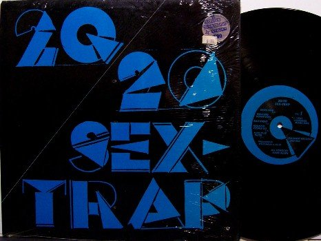 20/20 - Sex Trap - Vinyl LP Record - Private Label - Power Pop Rock
