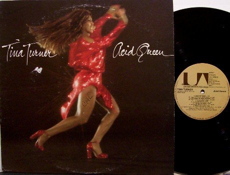 Turner, Tina - Acid Queen - Vinyl LP Record - Produced by Ike Turner - R&B Soul Rock