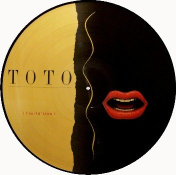 Toto Picture Disc - Isolation - Vinyl LP Record - Rock