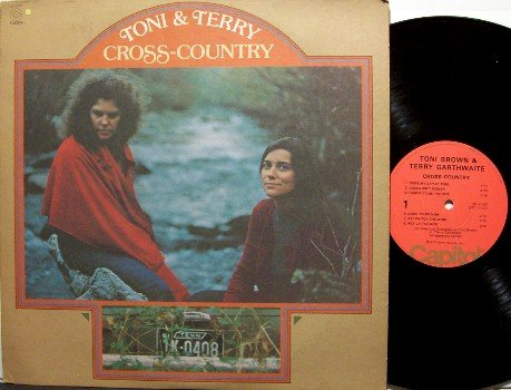 Toni & Terry / Joy Of Cooking - Cross Country - Vinyl LP Record - Prog Folk Rock