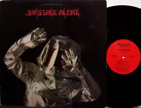 3rd Stage Alert - Self Titled - with Yngwie Malmsteen - Vinyl LP Record - Metal Blade Rock