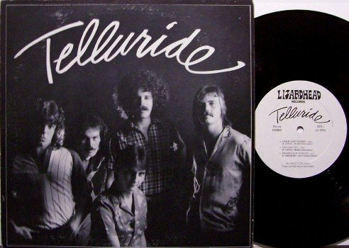 "Telluride - Self Titled - 10"" Vinyl LP Record - Alabama Band 1981 - Country Rock"
