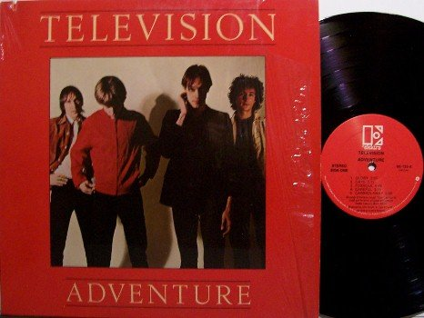 Television - Adventure - Vinyl LP Record - Rock