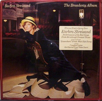 Streisand, Barbra - The Broadway Album - Sealed Vinyl LP Record - Barbara - Pop Vocal Rock