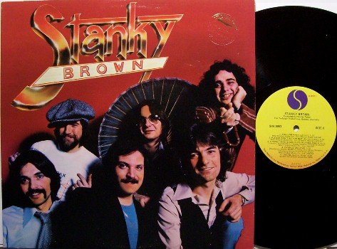 Stanky Brown - Self Titled - Vinyl LP Record - Sire Label - Rock