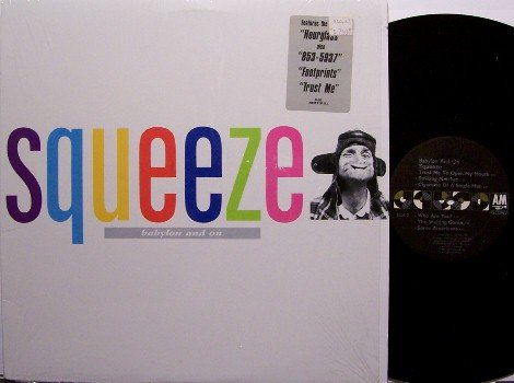 Squeeze - Babylon And On - Vinyl LP Record - Rock
