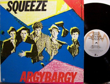 Squeeze - Argybargy - Vinyl LP Record - Rock