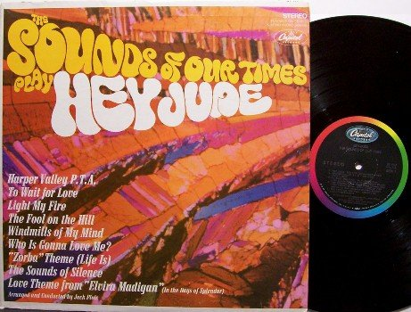Sounds Of Our Times, The - Play Hey Jude - Vinyl LP Record - Rock