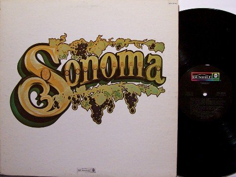 Sonoma - Self Titled - Vinyl LP Record - Ernie Watts, Wilton Felder, etc - Rock