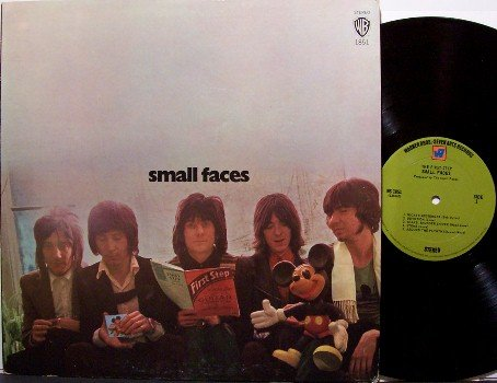 Small Faces - Self Titled - Vinyl LP Record - Rod Stewart / Ron Wood Rock