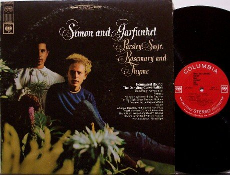 Simon & Garfunkel - Parsley Sage Rosemary And Thyme - Vinyl LP Record - 360 Sound Label - Rock