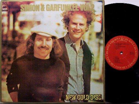 Simon & Garfunkel - Volume 2 - Vinyl LP Record - Phillipines CBS Sony Pressing - Rock
