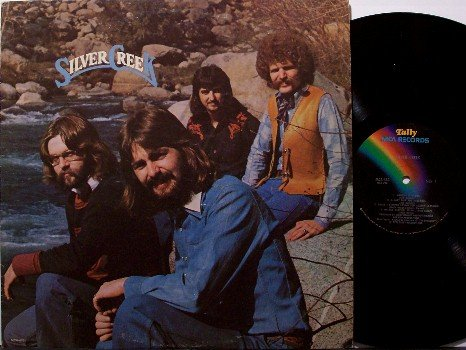 Silver Creek - Self Titled - Vinyl LP Record - Rural Folk Psych Country Rock