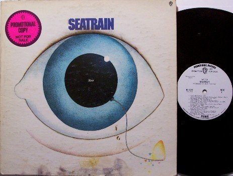 Seatrain - Self Titled - White Label Promo - Vinyl LP Record - Rock