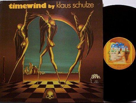 Schulze, Klaus - Timewind - Vinyl LP Record - West Germany - Kraut Synth Prog Rock