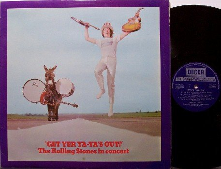 Rolling Stones - Get Yer Ya-Ya's Out - UK Pressing - Vinyl LP Record - Rock