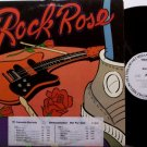 Rock Rose - Self Titled - Vinyl LP Record - White Label Promo - L.A. Rock