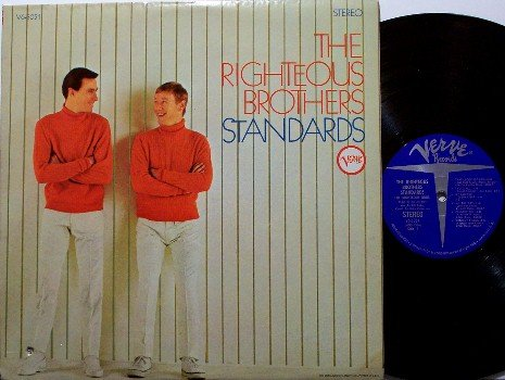 Righteous Brothers, The - Standards - Vinyl LP Record - Verve Stereo - Rock