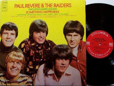 Revere, Paul & The Raiders - Something Happening - Vinyl LP Record - 360 Sound Label - Rock