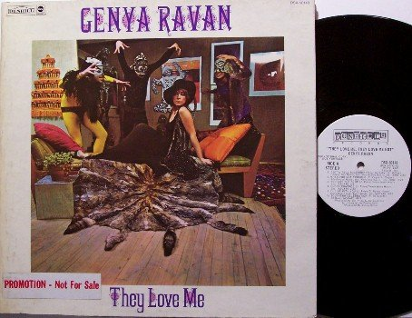 Ravan, Genya - They Love Me - White Label Promo - Vinyl LP Record - Rock