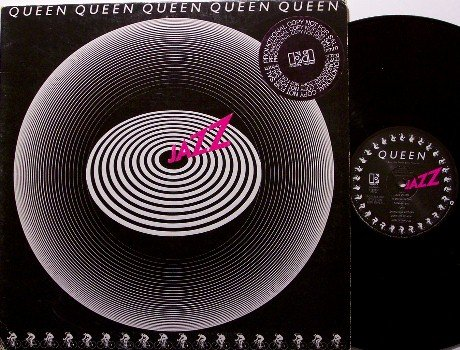 Queen - Jazz - Promo Cover and Labels - Vinyl LP Record - Rock