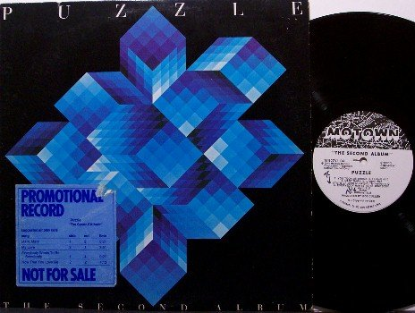 Puzzle - The Second Album - White Label Promo - Vinyl LP Record - Motown - Pop Rock