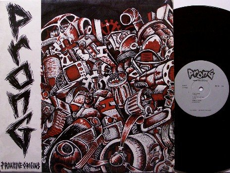 Prong - Primitive Origins - Vinyl LP Record - New York Punk Rock